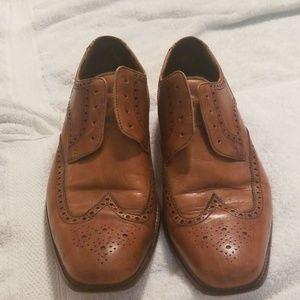 Cole haan cognac dress oxford shoes mens 13